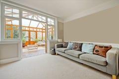 Área da sala de estar Imagens de Stock