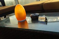 Área da sala de estar de um hotel de luxo Foto de Stock Royalty Free