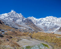 Área de Annapurna Fotos de archivo