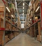 Área de armazenamento Foto de Stock
