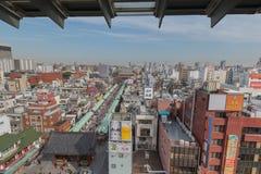 Área de Asakusa Foto de archivo