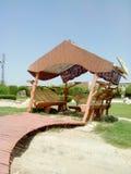 Área de assento ao ar livre Imagem de Stock