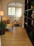 Área de assento ou quarto de leitura bonito fotografia de stock royalty free
