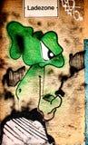 Área de carga dos grafittis Fotografia de Stock