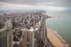 Área de Chicago Gold Coast Fotos de archivo libres de regalías