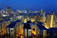 Área de construção de Hong Kong Residential foto de stock