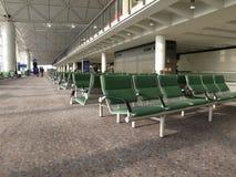Área de embarque del aeropuerto Imágenes de archivo libres de regalías
