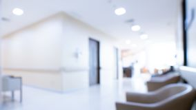 Área de espera acolhedor no hospital fotografia de stock