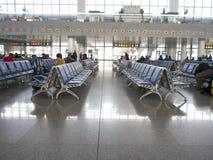 Área de espera da estação de trem de alta velocidade Imagens de Stock Royalty Free
