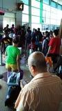 Área de espera do aeroporto fotos de stock