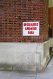 Área de fumo Foto de Stock