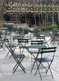 Área de jantar ao ar livre Imagem de Stock