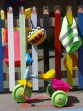 Área de jogo de crianças Imagem de Stock Royalty Free