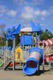 Área de jogo do ` s das crianças na área do parque Imagem de Stock Royalty Free