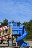 Área de jogo do ` s das crianças na área do parque Foto de Stock Royalty Free
