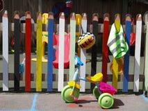 Área de juego de niños Foto de archivo libre de regalías