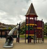 Área de juego de niños foto de archivo