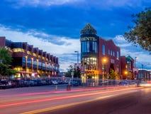 Área de Kensington de Calgary imagenes de archivo