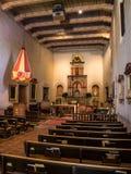Área de la adoración en el ¡de San Diego de Alcalà de la misión Foto de archivo