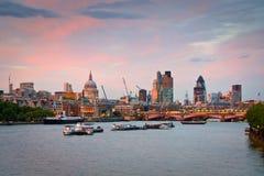 Área de la calle de Liverpool, Londres. Imagen de archivo