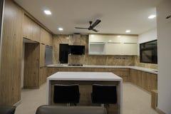 Área de la cocina imagen de archivo libre de regalías