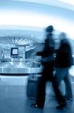 Área de la demanda del equipaje Foto de archivo libre de regalías