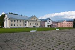 Área de la pequeña ciudad del ââthe Fotos de archivo libres de regalías