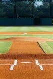 Área de la pista de aterrizaje Joe Riley Stadium del béisbol imagenes de archivo