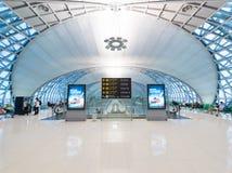 Área de la salida del aeropuerto de Bangkok Fotografía de archivo