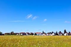 Área de la vivienda en paisaje cerca de Munich Imagen de archivo