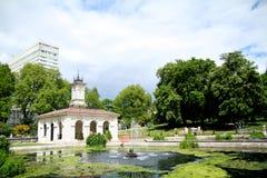 Área de los jardines y de Hyde Park de Kensington Foto de archivo