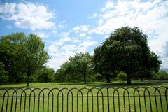 Área de los jardines y de Hyde Park de Kensington Foto de archivo libre de regalías