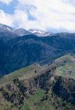 Área de montaña Imagen de archivo libre de regalías