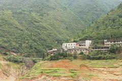 Área de montaña Imagenes de archivo