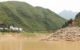 Área de montaña Foto de archivo