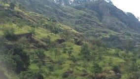 Área de montaña en Sri Lanka fotografía de archivo libre de regalías