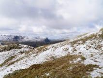 Área de montaña Nevado foto de archivo libre de regalías