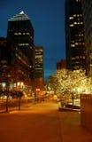 Área de negócio 5 de Montreal Imagem de Stock Royalty Free