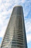 Área de negócio de Cuatro Torres, Madrid Fotografia de Stock