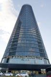 Área de negócio de Cuatro Torres, Madrid Imagem de Stock Royalty Free