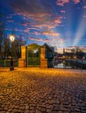 Área de Petite France en Estrasburgo imágenes de archivo libres de regalías
