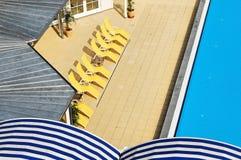 Área de piscina en el balneario de la salud Imagen de archivo