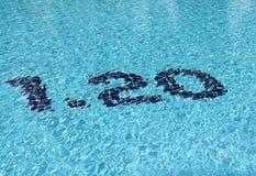Área de piscina para los cabritos Imágenes de archivo libres de regalías