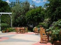 Área de recepção ao ar livre Imagem de Stock