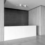 Área de recepción de la oficina imagenes de archivo