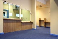 Área de recepción de la oficina Foto de archivo