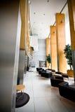 Área de recepción del hotel de lujo Imagenes de archivo