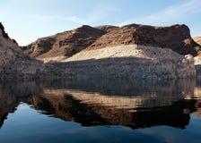 Área de reconstrucción de la aguamiel del lago Imagen de archivo libre de regalías