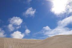 Área de reconstrucción nacional de las dunas de arena de Oregon Imágenes de archivo libres de regalías