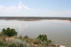 Área de reconstrucción nacional de Meredith del lago Fotografía de archivo